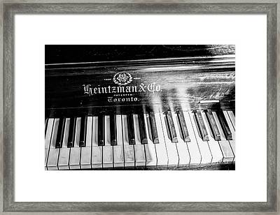 Antique Keys Framed Print