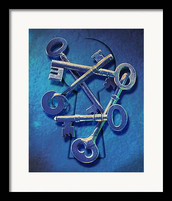 Keys Framed Prints