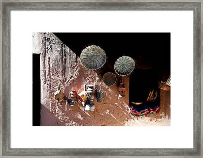 Framed Print featuring the photograph Antique Lanterns by Andrew Fare