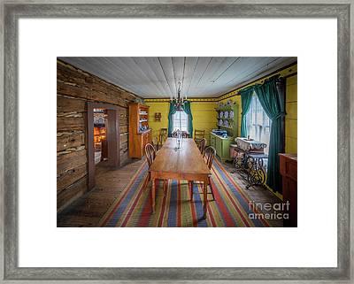Antique Lounge Framed Print by Inge Johnsson