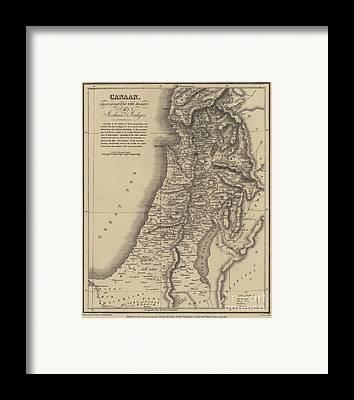 Old Jewish Area Framed Prints
