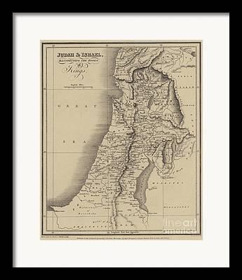 Jewish History Framed Prints