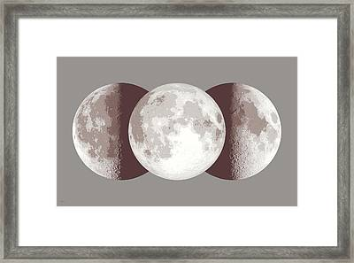 Antique Moon Framed Print by Don Dixon