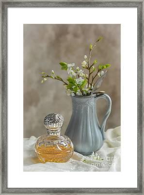 Antique Perfume Bottle Framed Print