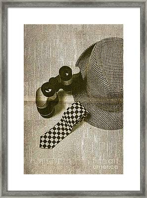 Antique Press Reporter Objects Framed Print by Jorgo Photography - Wall Art Gallery