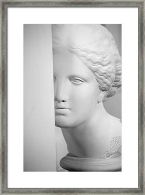 Framed Print featuring the photograph Antique Sculpture by Andrey  Godyaykin