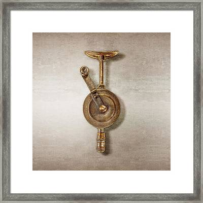 Antique Shoulder Drill Front Side Framed Print by YoPedro