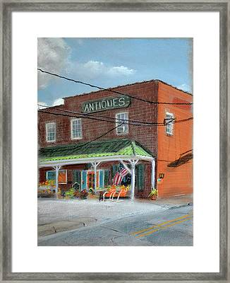 Antique Store Framed Print by Christopher Reid