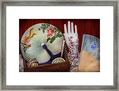 Antique - The Finer Things In Life Framed Print by Mike Savad