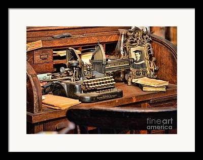 Collectable Typewriter Framed Prints