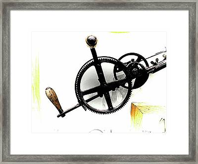 Antique With Aspirations Towards Steampunk Framed Print