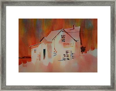 Antiques And Real Estate Framed Print