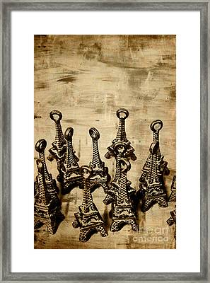 Antiques Of France Framed Print