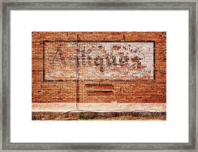 Antiques Framed Print by Priscilla Burgers