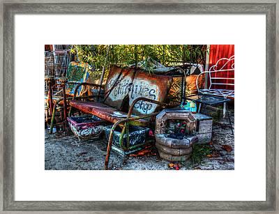 Antiques Shop Framed Print