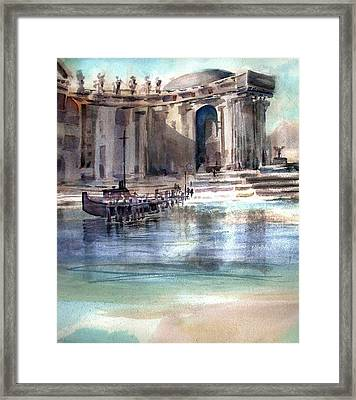 Antiquities  Framed Print