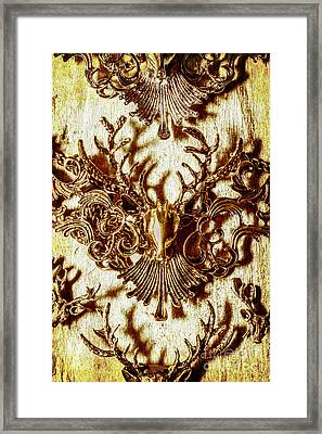 Antler Antiquities Framed Print by Jorgo Photography - Wall Art Gallery