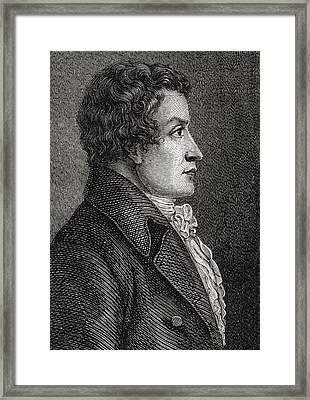 Antoine Christophe Merlin De Framed Print