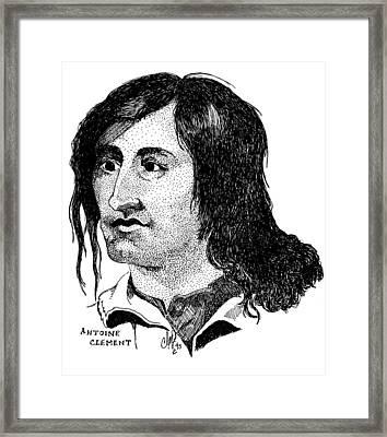 Antoine Clement Framed Print