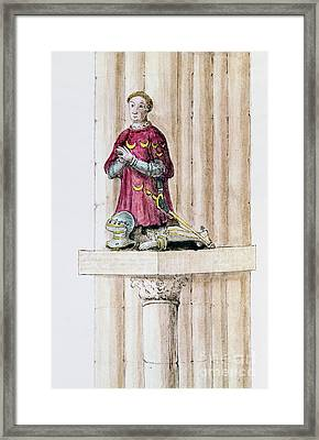 Antoine Des Essarts Framed Print by Granger