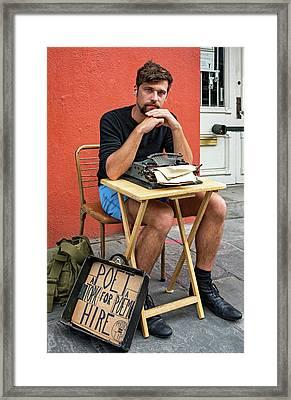 Antoine Framed Print