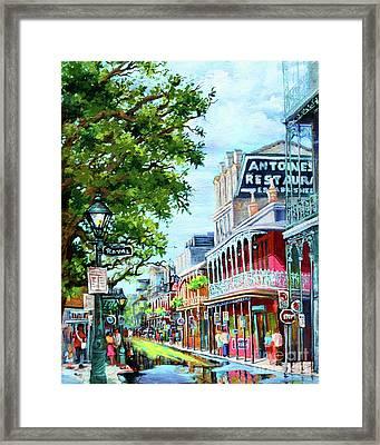 Antoine's Framed Print