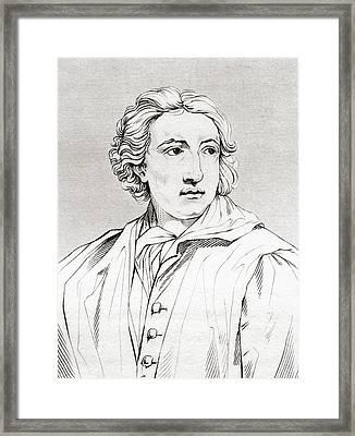 Anton Raphael Mengs, 1728 Framed Print