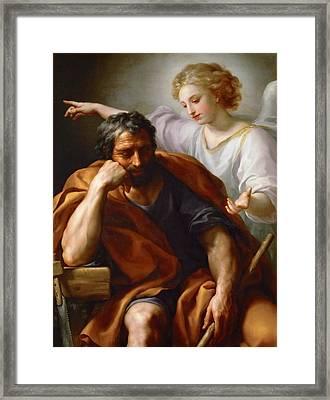 Anton Raphael Mengs Dream Of Saint Joseph.jpeg Framed Print