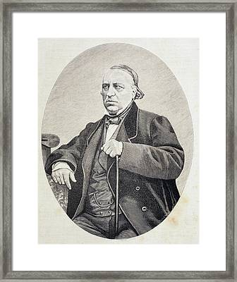 Antonio Bergnes De Las Casas, 1801 - Framed Print