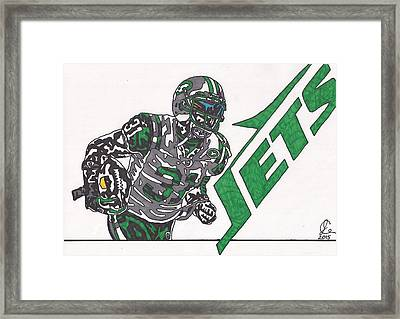 Antonio Cromartie  Framed Print by Jeremiah Colley