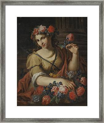 Antonio Franchi Detto Il Lucchese Framed Print by MotionAge Designs