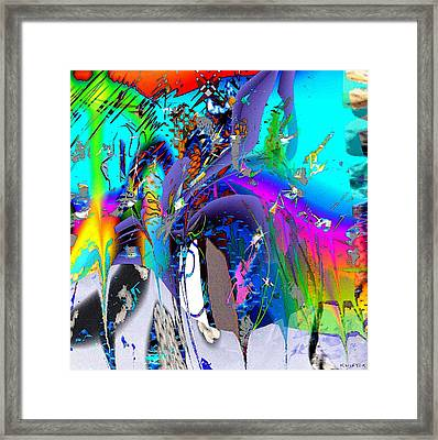 Ants Framed Print by Dave Kwinter