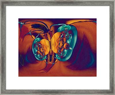 Antsy Series - Genesis Framed Print