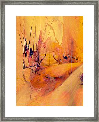Antsy Series - Life's A Stage Framed Print