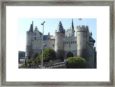 Antwerp Castle Framed Print