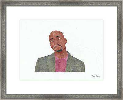 Antwon Tanner Framed Print