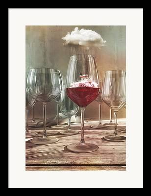 Vintner Digital Art Framed Prints