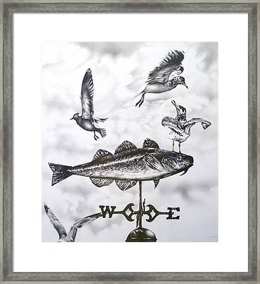 Any Way The Wind Blows Framed Print by Michael Lee Summers
