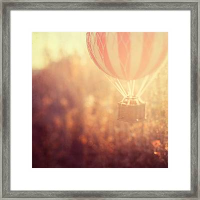 Anything Is Possible Framed Print by Irene Suchocki