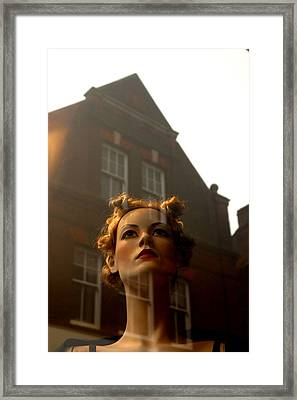 Anywhere But Here Framed Print by Jez C Self
