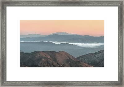 Anza-borrego Morning Framed Print by Joseph Smith