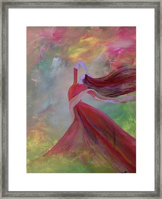 Aoide Framed Print by Trilby Cole