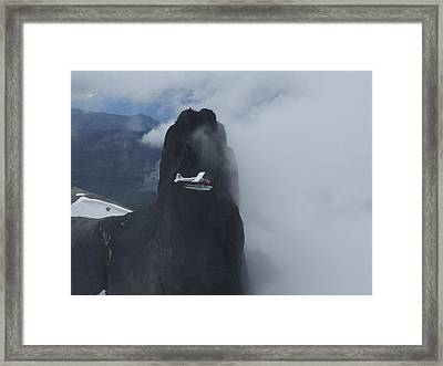 Aop At Black Tusk Framed Print by Mark Alan Perry