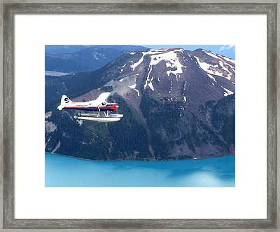 Aop In The Mountains Framed Print by Mark Alan Perry