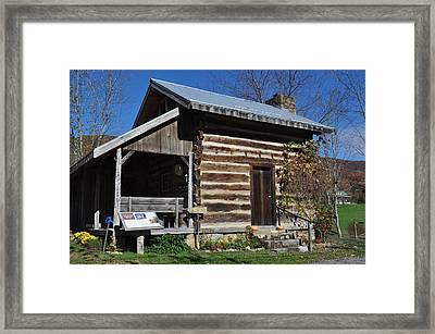A.p. Carter Homeplace/ The Carter Fold Framed Print