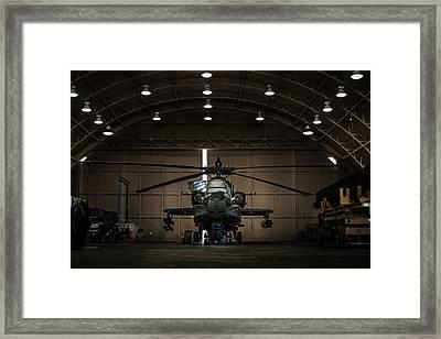 Apache Ah-64 Framed Print