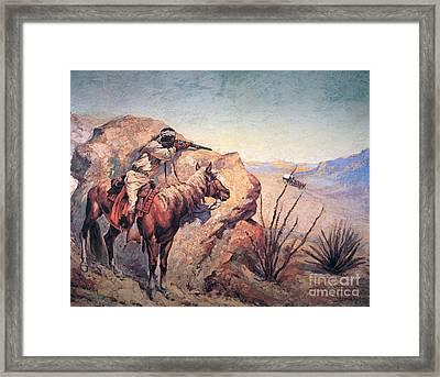 Apache Ambush Framed Print