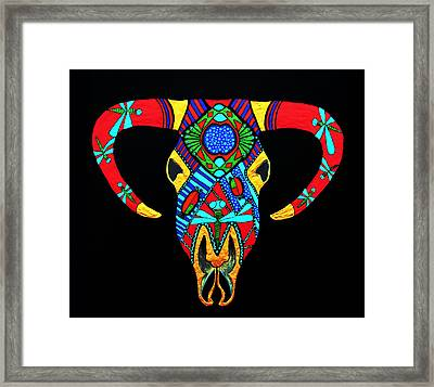Apache Dawn Close Up Framed Print