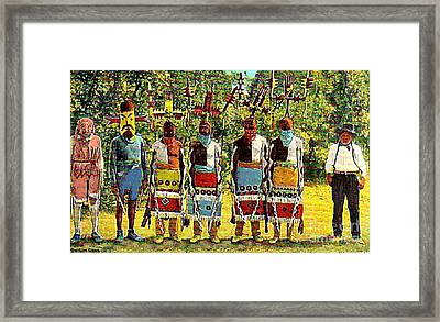 Apache Ghost Dancers Framed Print