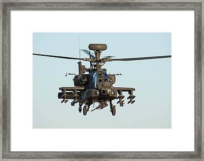 Apache Framed Print by Ken Brannen